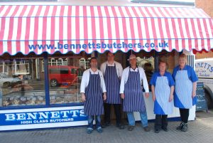 Bennetts Butchers Sutton on Sea